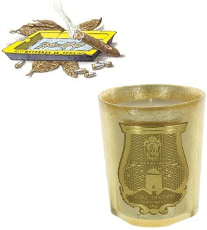 Ernesto Gold Leaf Candle 9.5 oz by Cire Trudon by Cire Trudon