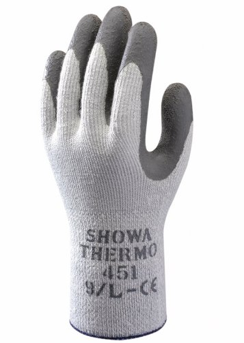 Showa 451 Thermo Grip Insulated Gloves Medium