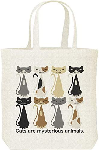 エムワイディエス(MYDS) 猫だくさん(ねこ)/キャンバス M トートバッグ