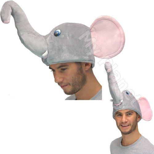 [Nelly The Elephant Dumbo Style Novelty Fancy Dress Costume - Gimmick Animal Hat] (Elephant Costume 4 Year Old)