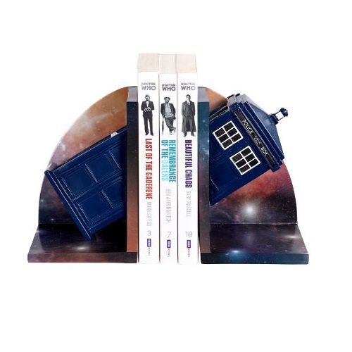 Doctor Who Tardis Bookends by Underground Toys (DW01064)