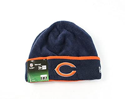 Chicago Bears New Era On-field Tech Sideline Cuffed Knit Hat
