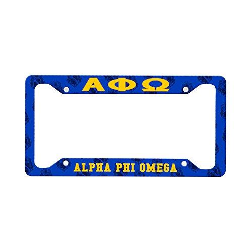 Alpha Phi Omega Custom License Plate - Alpha Fram