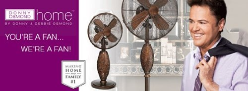 Serene Floor Standing Fan - Donny Osmond Home Collection