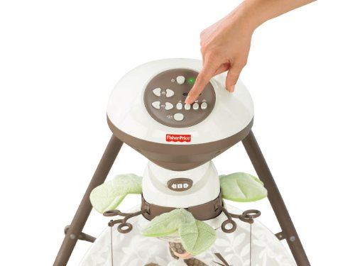 Fisher-Price Snugabunny Cradle 'n Swing with Smart Swing Technology by Fisher-Price (Image #5)