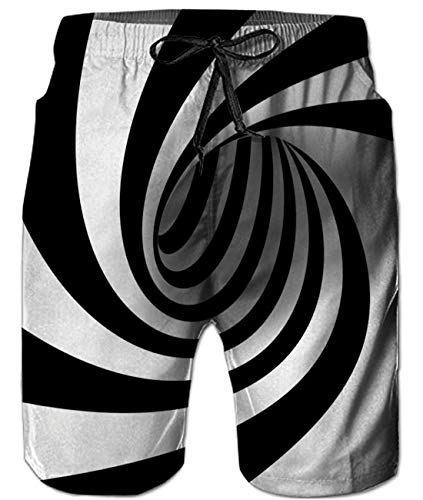 - Idgreatim Mens 3D Print Swimming Trunks Funny Quick Dry Board Shorts with Pockets M