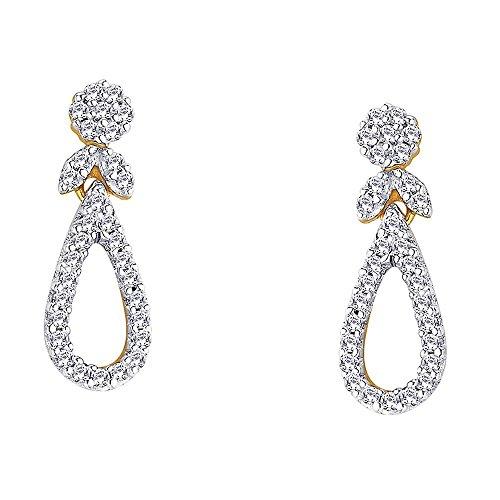 Giantti Diamant Boucle d'oreilles pendantes Femme (0,48CT, VS Clarté, Gh-colour)