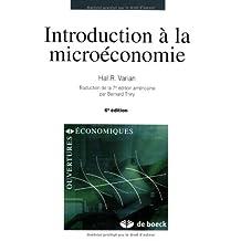Intro. microeconomie       6/e (varian)