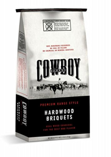 Duraflame Cowboy 26014 Cowboy Brand Natural Hardwood Briquettes, 14lb by Duraflame