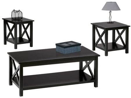 Progressive Furniture Seascape - Juego de Mesa de café (3 Piezas ...