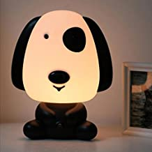 Wintimes Lovely Baby Room Light Cartoon Lovely Dog Kids Bed Lamp Night Sleeping Desk Lamp Light Best for Holiday Gifts