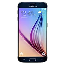 Samsung Galaxy S6 - 32 GB - Manufacture Refurbished, Unlocked Phone, No Warranty, Black - Retail Packaging