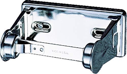(San Jamar R200XC Stainless Steel Standard Roll Locking Toilet Tissue Dispenser )