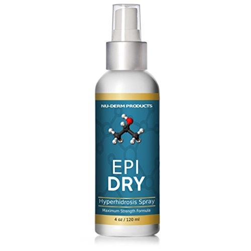 Epi Dry Sage spray HYPERHIDROSIS TREATMENT Body Foot Spray Help stop sweating Sweaty Feet Underarm Proven Antiperspirant keep you Dry