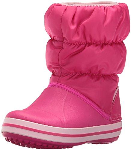 Crocs Winter Puff Snow Boot (Toddler/Little Kid), Candy Pink, 10 M US Little Kid