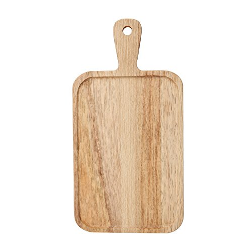 (18-Inch-by-9.5-Inch oak Wood Artisan Bread Plank,Paddle-Shaped)