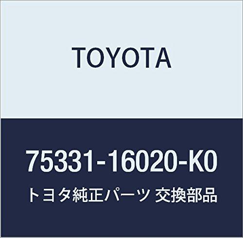 Toyota 75331-16020-K0 Hood Emblem