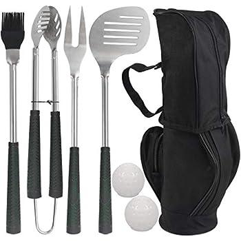 Amazon.com: Grilljoy - Juego de 8 utensilios de barbacoa de ...