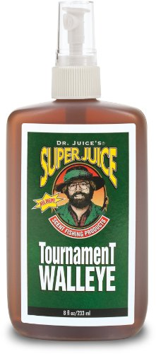 Blue Fox Dr Juice Tournament Super Juice Walleye Scent (8 Oz), Outdoor Stuffs