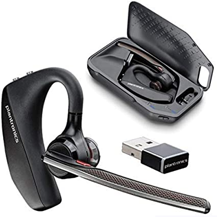 Amazon Com Plantronics Voyager 5200 Uc Bluetooth Headset System With Accessories Home Audio Theater