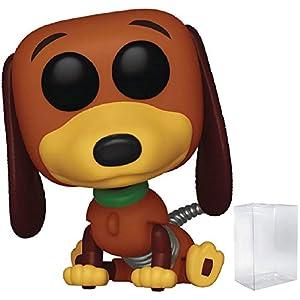 Disney Pixar: Toy Story – Slinky Dog Funko Pop! Vinyl Figure (Includes Compatible Pop Box Protector Case)
