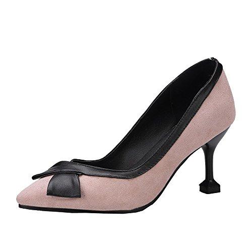 Ballet Puro Donna FBUIDD007149 Trafilatura Cachi Tacco Medio Tirare AllhqFashion Flats PYf5wq5