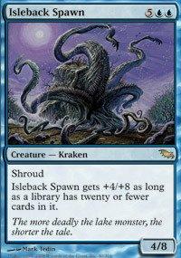 Gathering Shadowmoor Single Card - Magic: the Gathering - Isleback Spawn - Shadowmoor