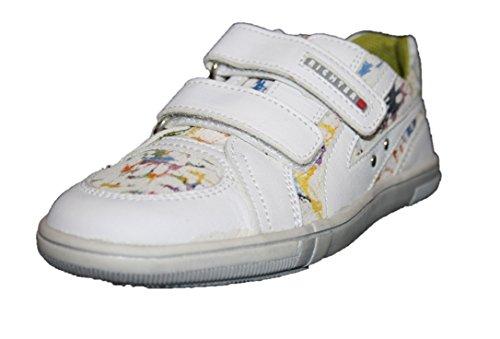 Richter Kinderschuhe , Chaussures de ville à lacets pour garçon Noir Weiss / bund 31