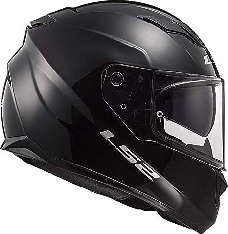 L Negro LS2 Casco de moto STREAM EVO Negro