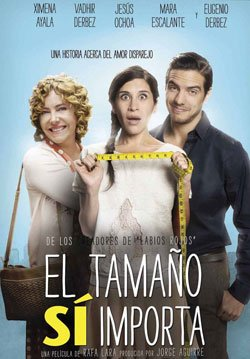 El Tamano Si Importa DVD Region 1 and 4 (Spanish Only / No English Options) - Seller: MusicVideoRock [+Peso($26.00 c/100gr)] (MMV)