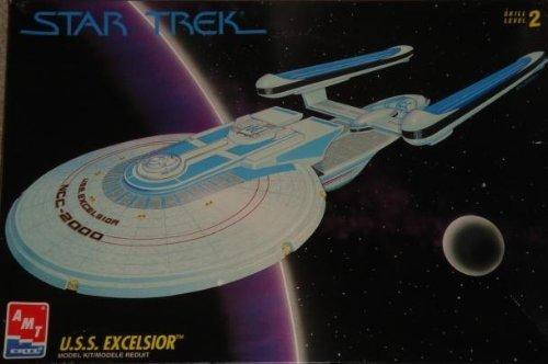 Star Trek U.S.S. EXCELSIOR NCC-2000 Starship Plastic Model Kit (AMT 1994) from Star Trek