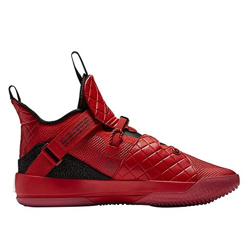 Jordan Nike Air XXXIII Basketball Shoes (12-M, Red/Black) (Best Selling Jordans Ever)