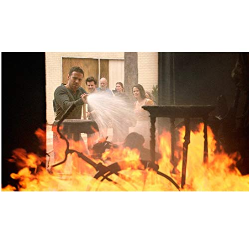 Midnight Texas Dylan Bruce as Bobo putting out fire in pawn