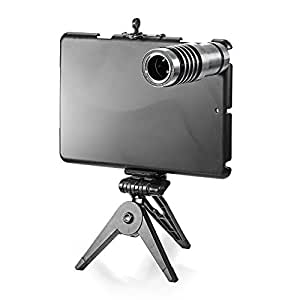 Neewer 12X Zoom Telephoto Lens Kit with Tripod and Case for iPad Mini
