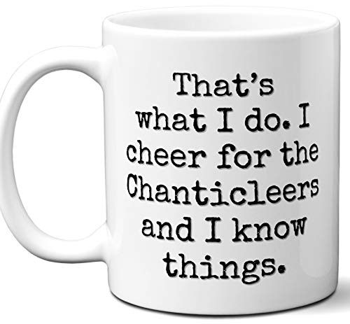 Chanticleers Gifts For Men Women. Cool Unique Funny Gift Idea Chanticleers Coffee Mug For Fans Sports Lovers. Football Hockey Birthday Father's Day Christmas.