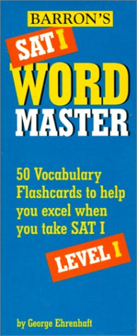 Barron's Sat I Wordmaster Level I: 50 Vocabulary Flashcards to Help You Excel When You Take Sat I