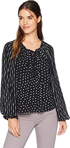 Billabong Women's Easy Breaze Woven Top Black X-Small