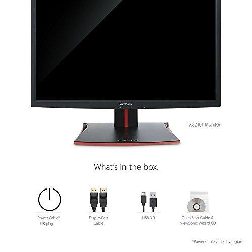ViewSonic XG2401 24'' 144Hz 1ms 1080p FreeSync Gaming Monitor HDMI, DisplayPort by ViewSonic (Image #6)'