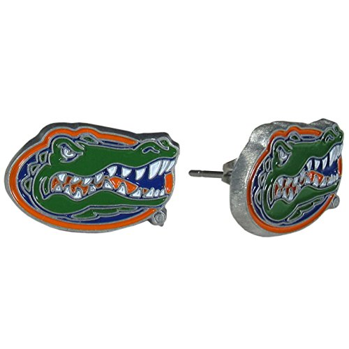 Florida Gators Studded Earrings - NCAA College Athletics Fan Shop Sports Team Merchandise by Siskiyou