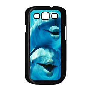 Dolphins ZLB810968 DIY Case for Samsung Galaxy S3 I9300, Samsung Galaxy S3 I9300 Case