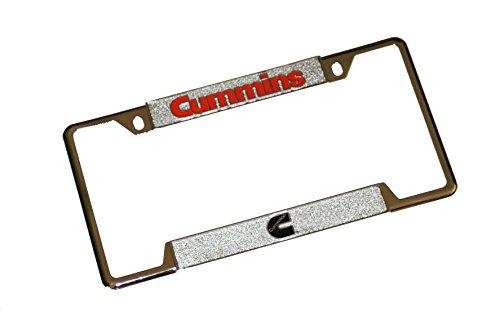 - Cummins Diesel Chrome Plated License Plate Frame