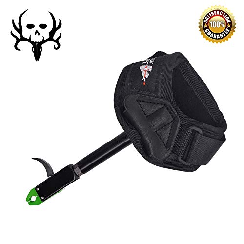 - Adult Caliper Release Aid for Compound Bow and Recurve Bow,Trigger Wrist Strap Release for Hunting and Target Practice,Archery Accessories (Green)