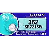SONY SR721SW (1個入り) 362 日本製 時計用ボタン電池