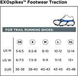 Kahtoola EXOspikes Footwear Traction - Black - Medium