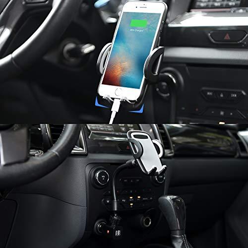 amoner phone holder for car  upgraded windshield dashboard