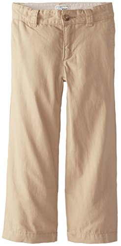 The Children's Place Little Boys' Chino Pant, Flax, 7