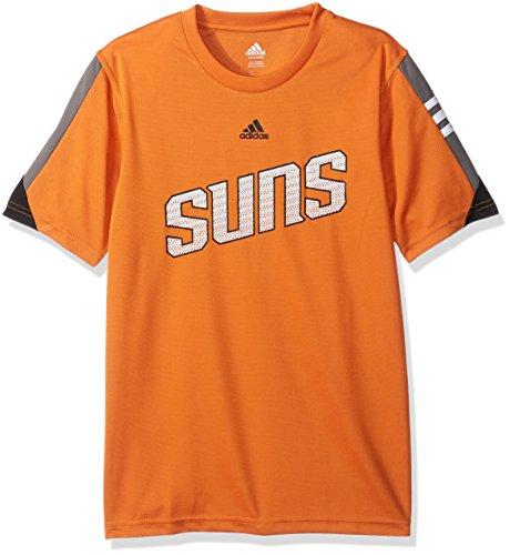 - Outerstuff NBA Youth 8-20 Phoenix Suns Possession Short Sleeve Performance Tee-Texas Orange-L(14-16)
