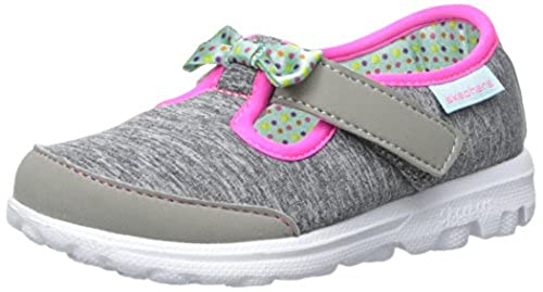 03. Skechers Kids Go Walk Bitty Bow Sneaker (Toddler/Little Kid)