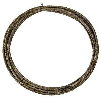 Amazon.com: Cable de cabrestante de 0.5 in. x 100 pies ...