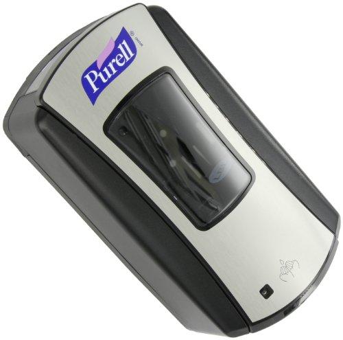 PURELL 1928-04 LTX-12 Touch-Free Hand Sanitizer Dispenser – Black, Dispenser for PURELL LTX-12 1200mL Refills by Purell (Image #1)